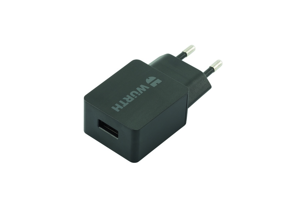 230 V ADAPTER MED USB 5 V 2.4 A batteriladdare